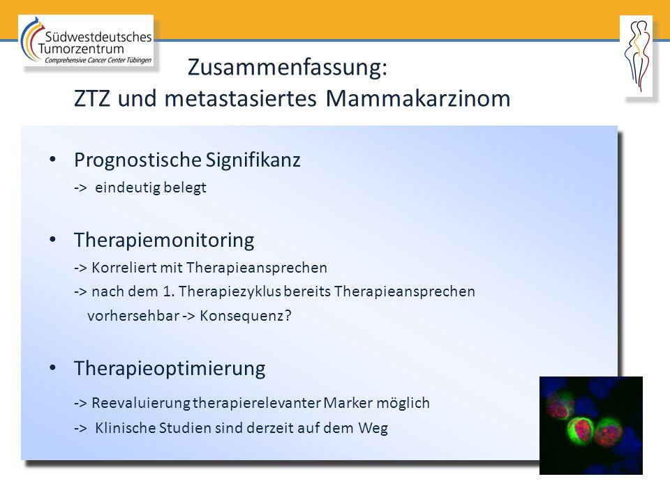 ZTZ und metastasiertes Mammakarzinom