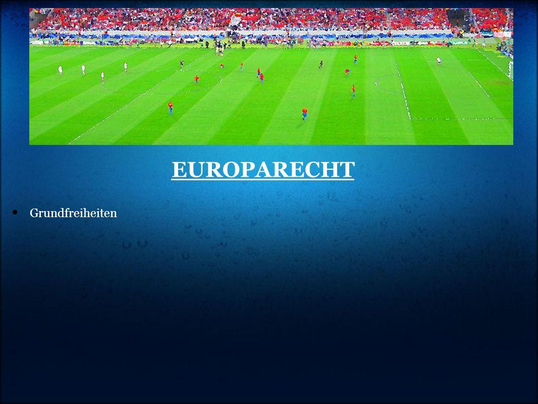 EUROPARECHT Grundfreiheiten