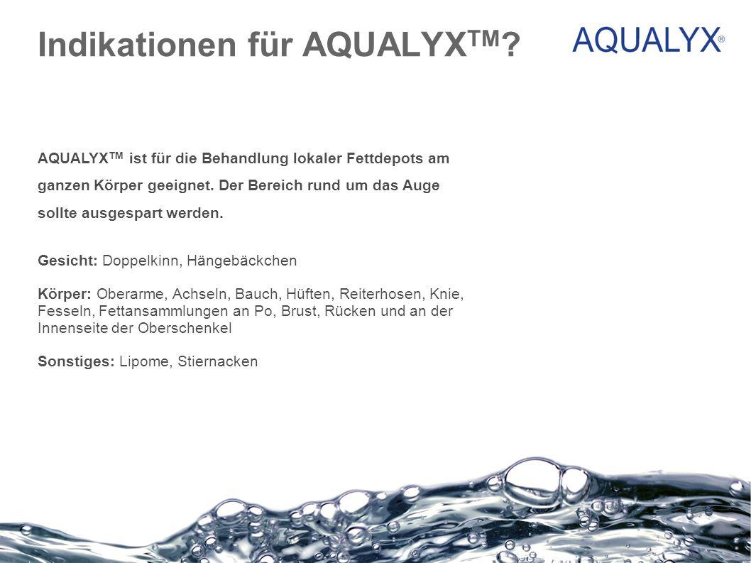 Indikationen für AQUALYXTM