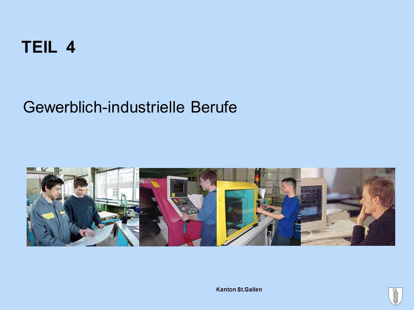TEIL 4 Gewerblich-industrielle Berufe