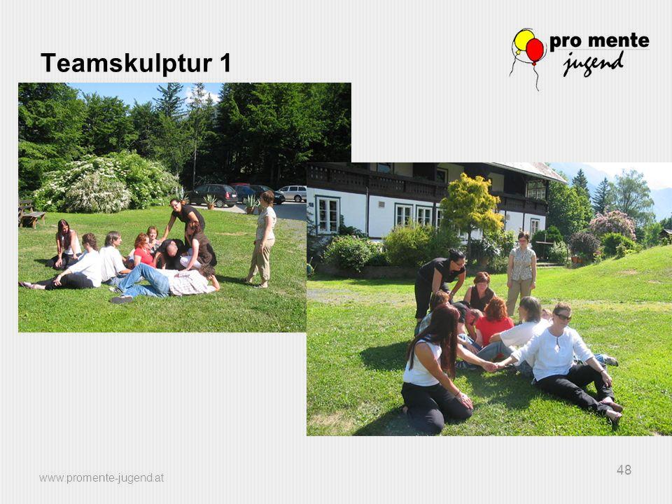 Teamskulptur 1 www.promente-jugend.at