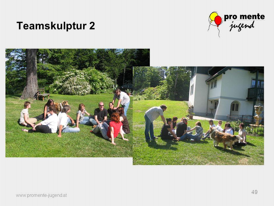 Teamskulptur 2 www.promente-jugend.at