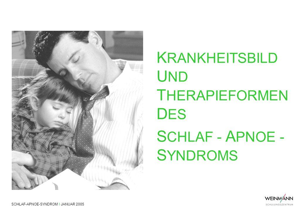 KRANKHEITSBILD UND THERAPIEFORMEN DES