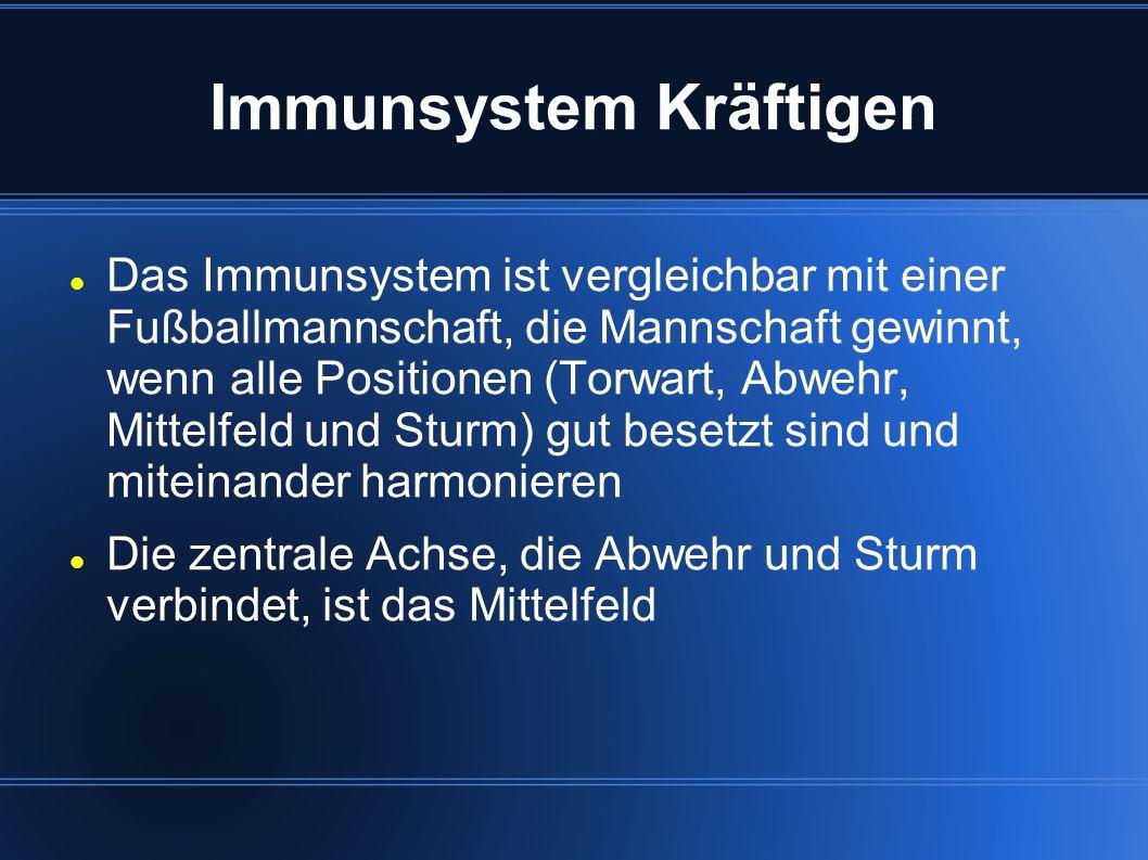 Immunsystem Kräftigen