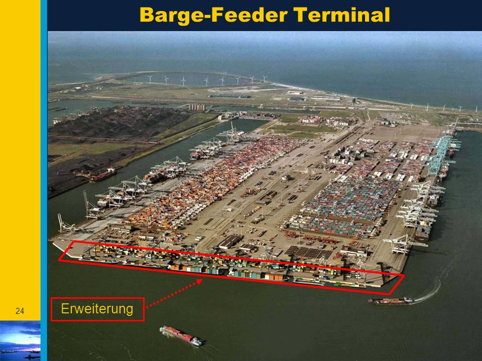 Barge-Feeder Terminal