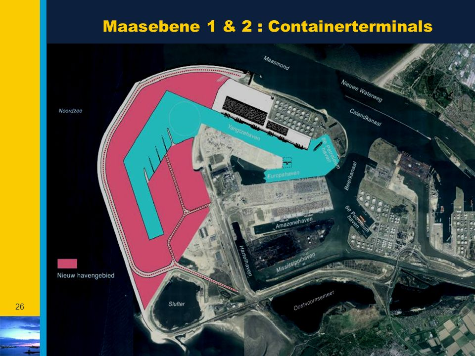 Maasebene 1 & 2 : Containerterminals