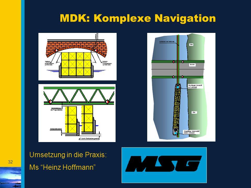 MDK: Komplexe Navigation