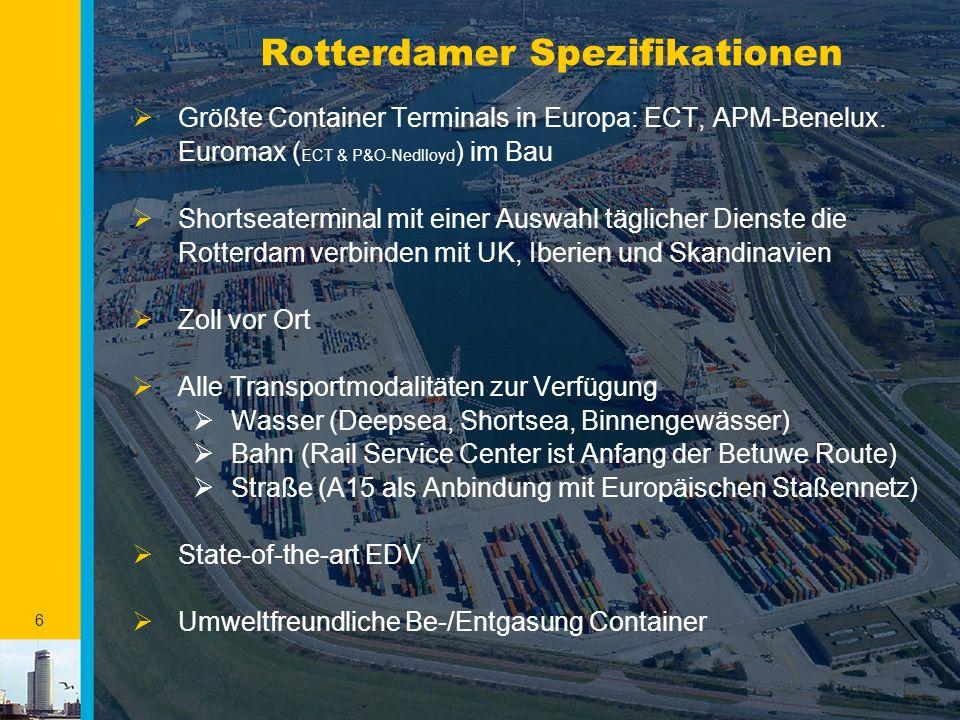 Rotterdamer Spezifikationen