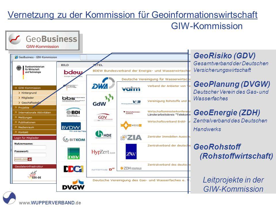 Vernetzung zu der Kommission für Geoinformationswirtschaft