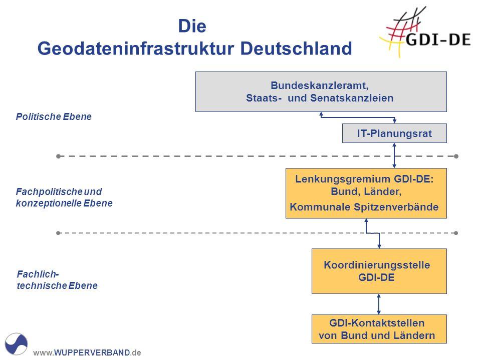 Die Geodateninfrastruktur Deutschland