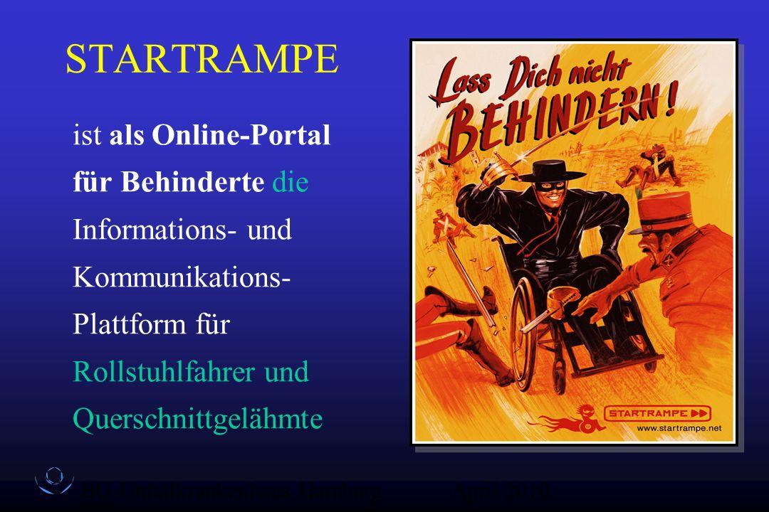 STARTRAMPE ist als Online-Portal für Behinderte die Informations- und Kommunikations- Plattform für Rollstuhlfahrer und Querschnittgelähmte.