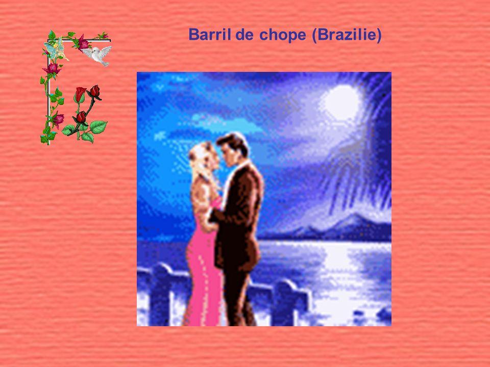 Barril de chope (Brazilie)