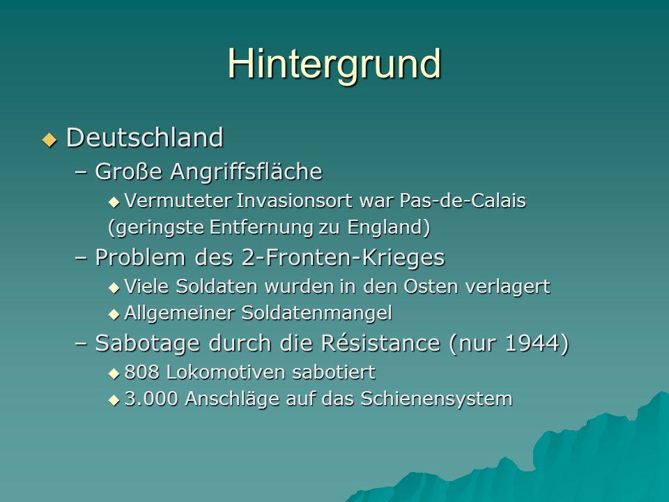Hintergrund Deutschland Große Angriffsfläche