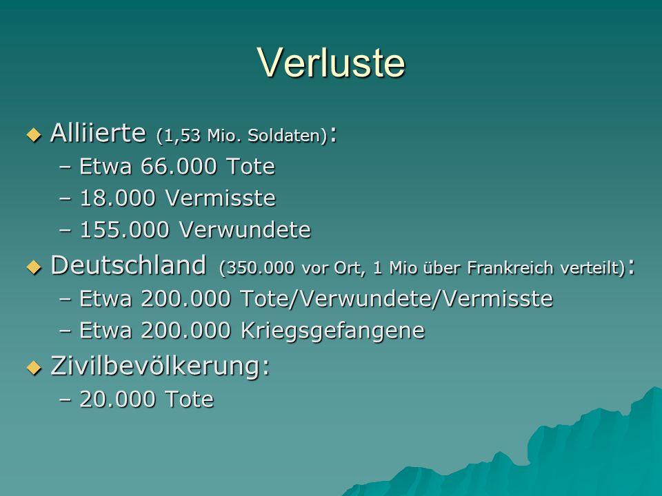 Verluste Alliierte (1,53 Mio. Soldaten):