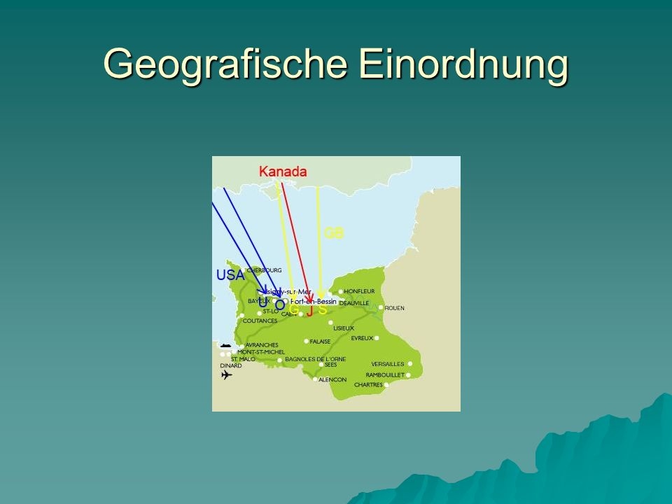Geografische Einordnung