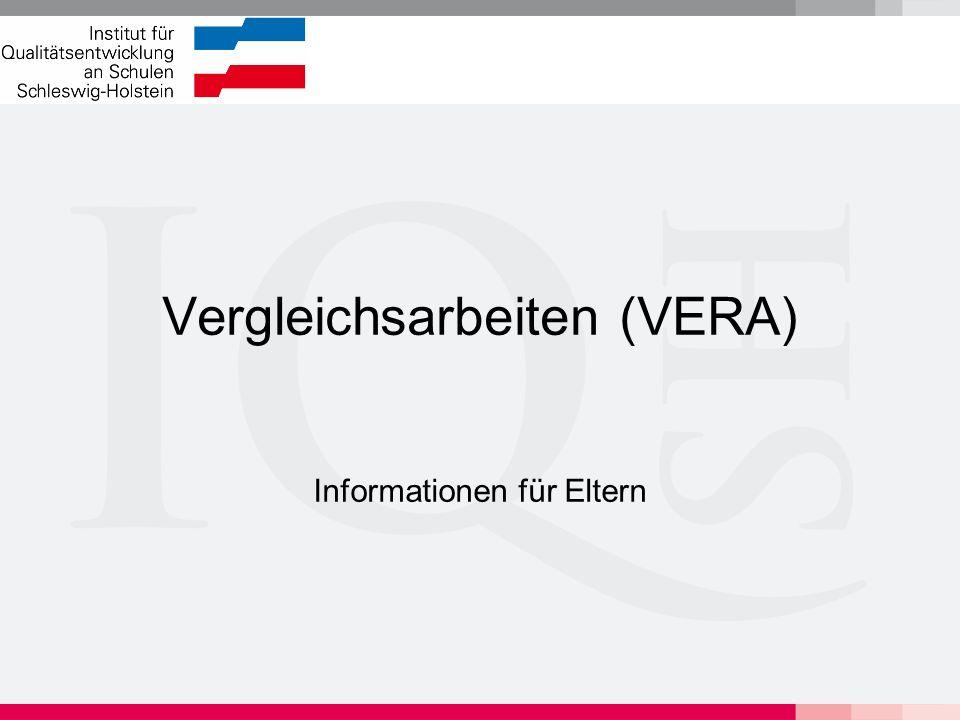 Vergleichsarbeiten (VERA)
