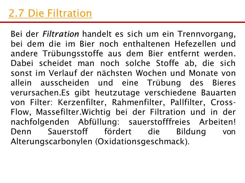 2.7 Die Filtration