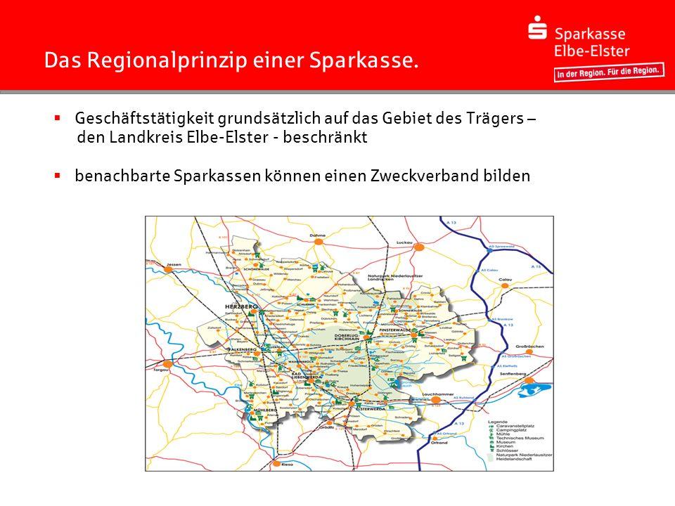 Unsere Sparkasse und ihr Geschäftsgebiet.