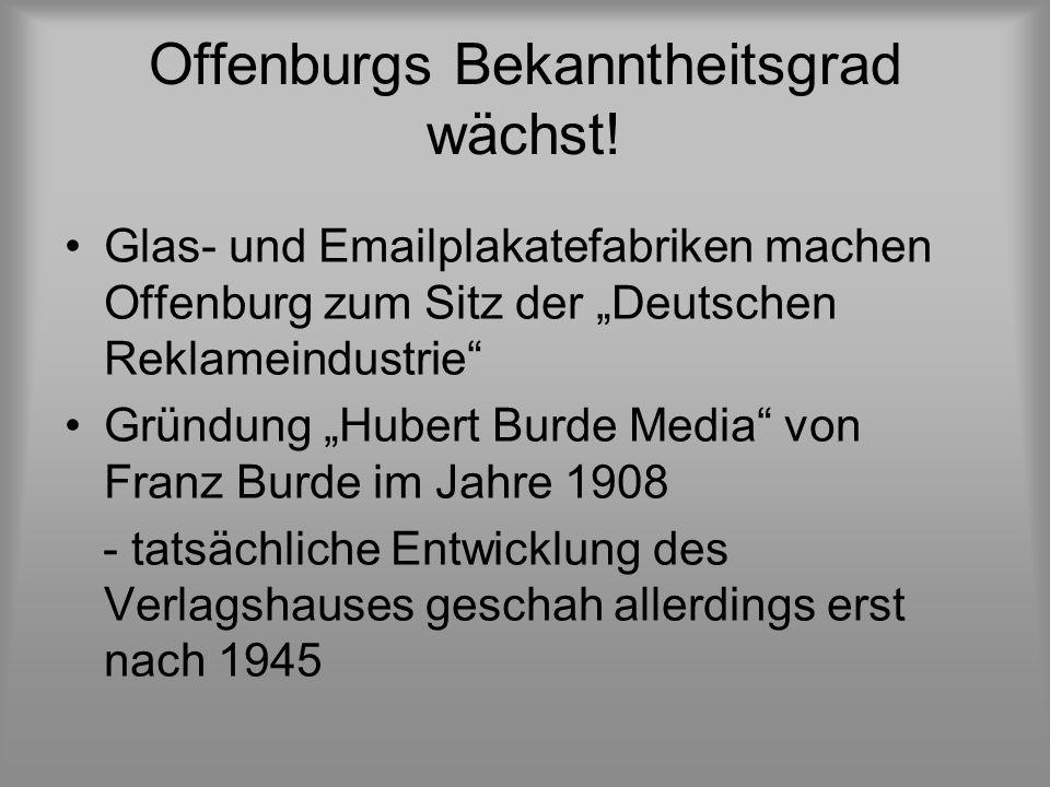 Offenburgs Bekanntheitsgrad wächst!