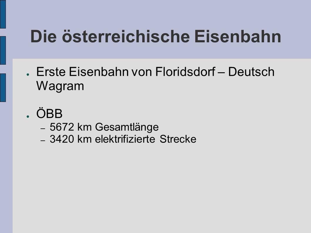 Die österreichische Eisenbahn