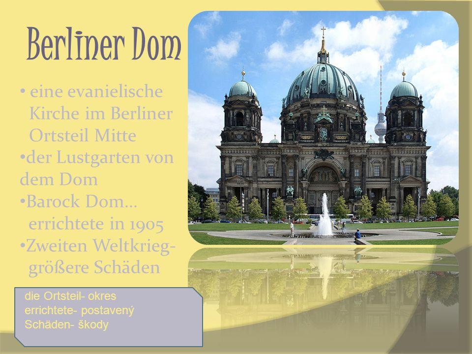 Berliner Dom eine evanielische Kirche im Berliner Ortsteil Mitte