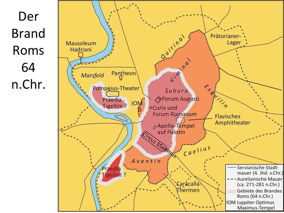 Der Brand Roms 64 n.Chr.