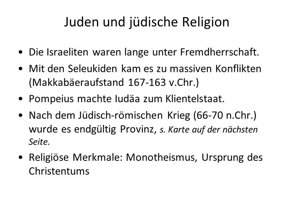 Juden und jüdische Religion