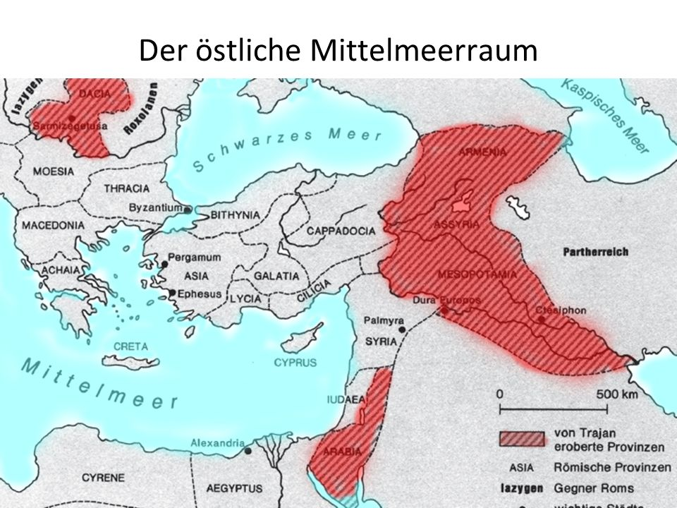 Der östliche Mittelmeerraum