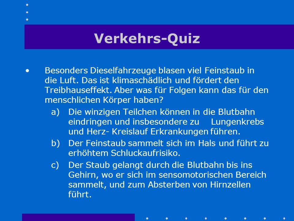 Verkehrs-Quiz