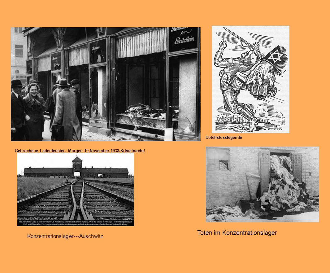 Toten im Konzentrationslager