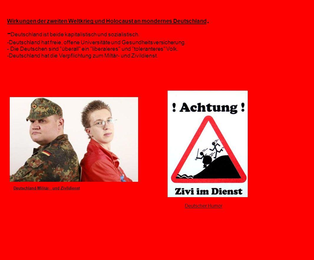 -Deutschland ist beide kapitalistisch und sozialistisch.