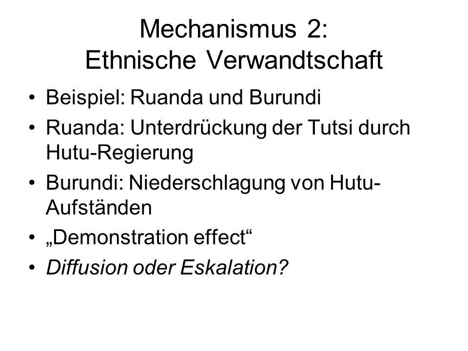 Mechanismus 2: Ethnische Verwandtschaft