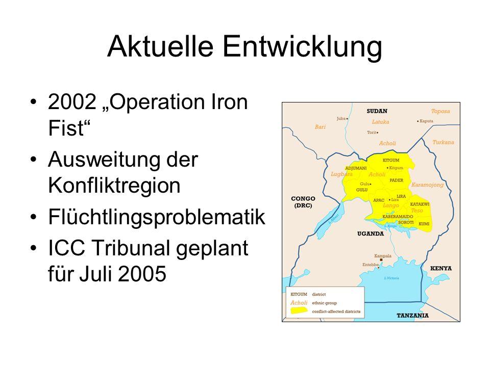 "Aktuelle Entwicklung 2002 ""Operation Iron Fist"