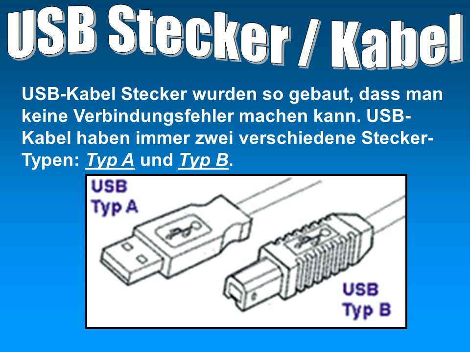 USB Stecker / Kabel