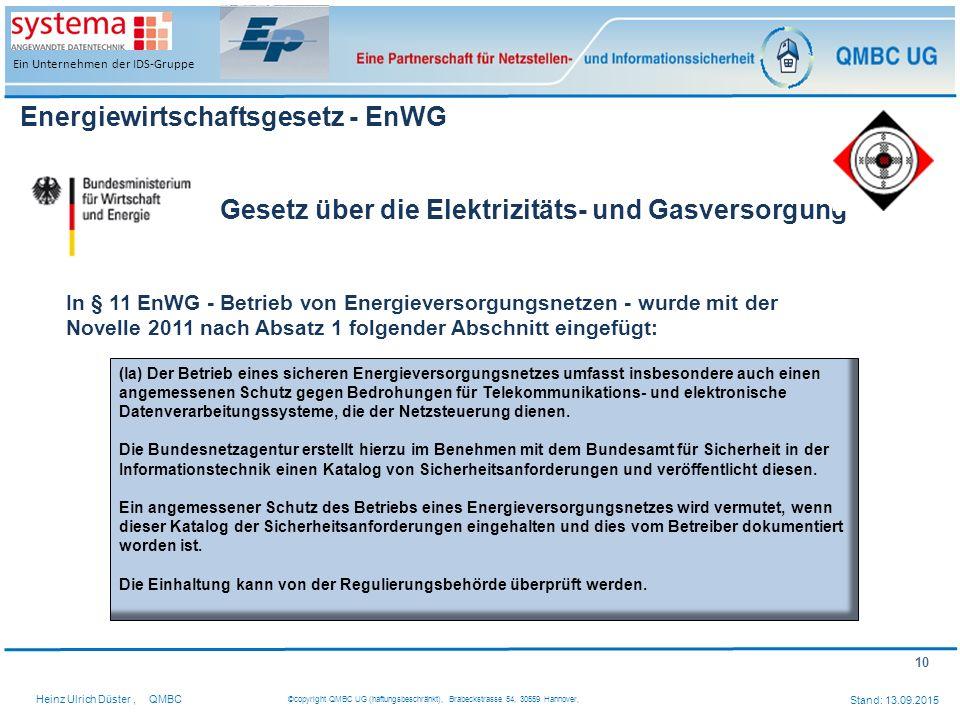 Energiewirtschaftsgesetz - EnWG
