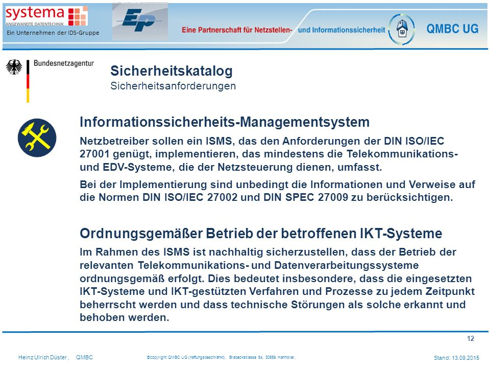 Informationssicherheits-Managementsystem