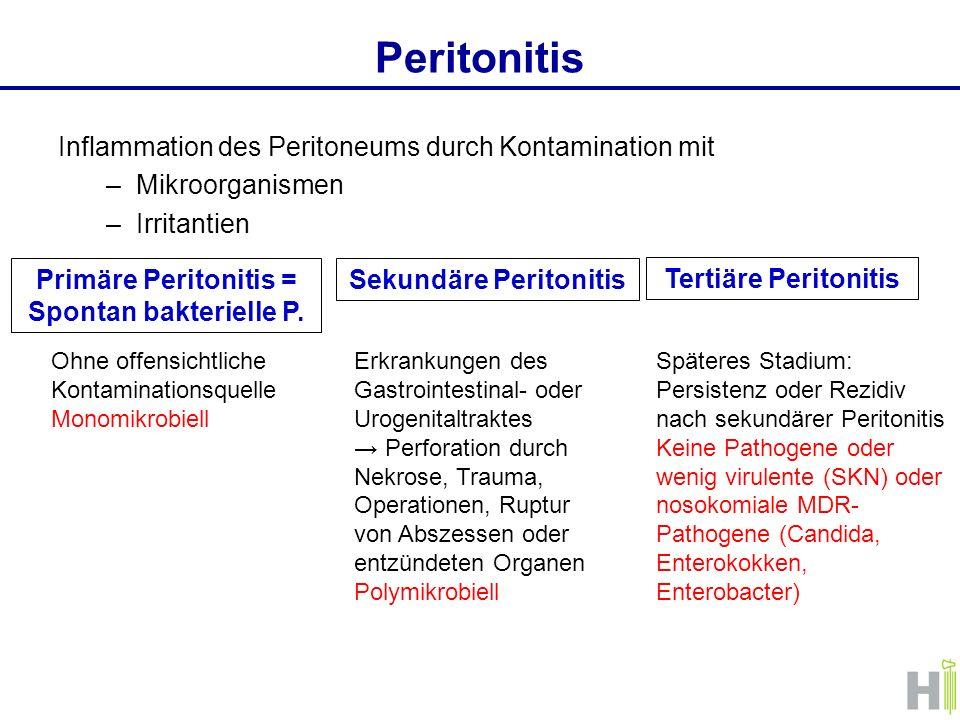Sekundäre Peritonitis