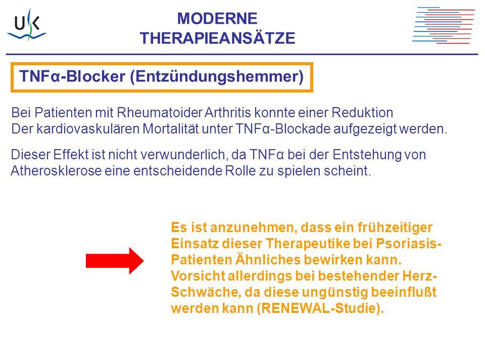 TNFα-Blocker (Entzündungshemmer)