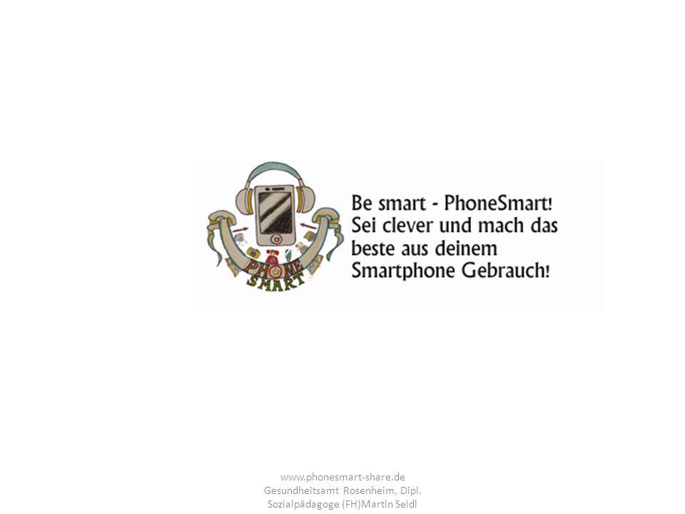 www. phonesmart-share. de Gesundheitsamt Rosenheim, Dipl