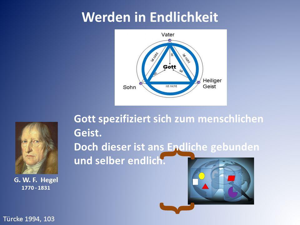} } Werden in Endlichkeit
