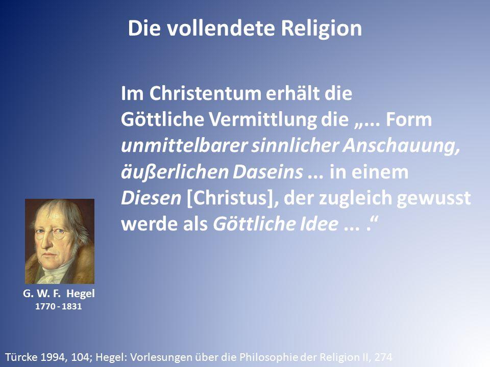 Die vollendete Religion