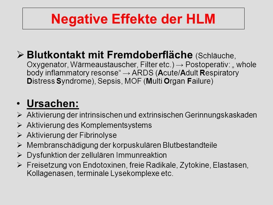 Negative Effekte der HLM