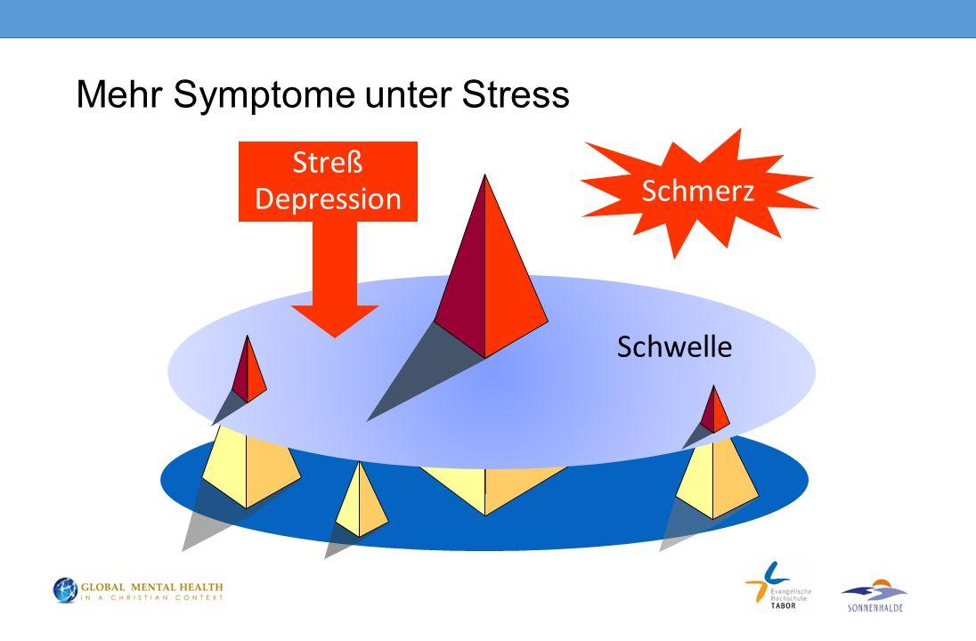 Mehr Symptome unter Stress