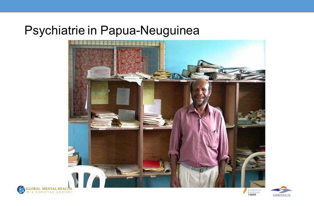 Psychiatrie in Papua-Neuguinea