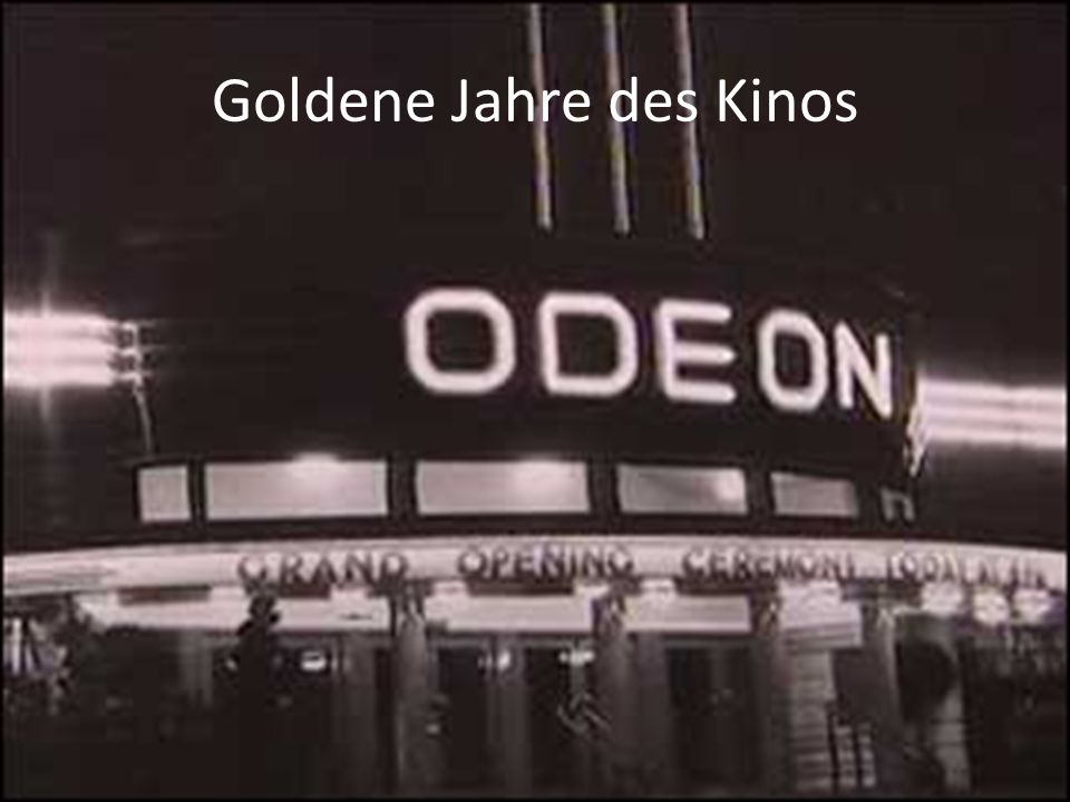 Goldene Jahre des Kinos
