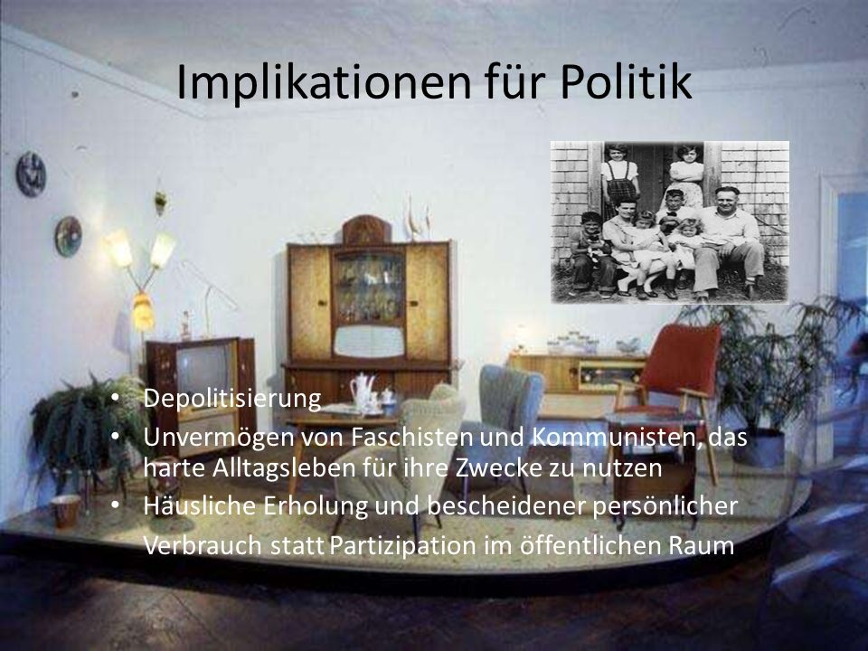 Implikationen für Politik