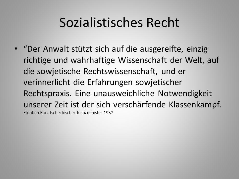 Sozialistisches Recht