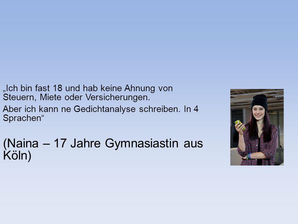 (Naina – 17 Jahre Gymnasiastin aus Köln)