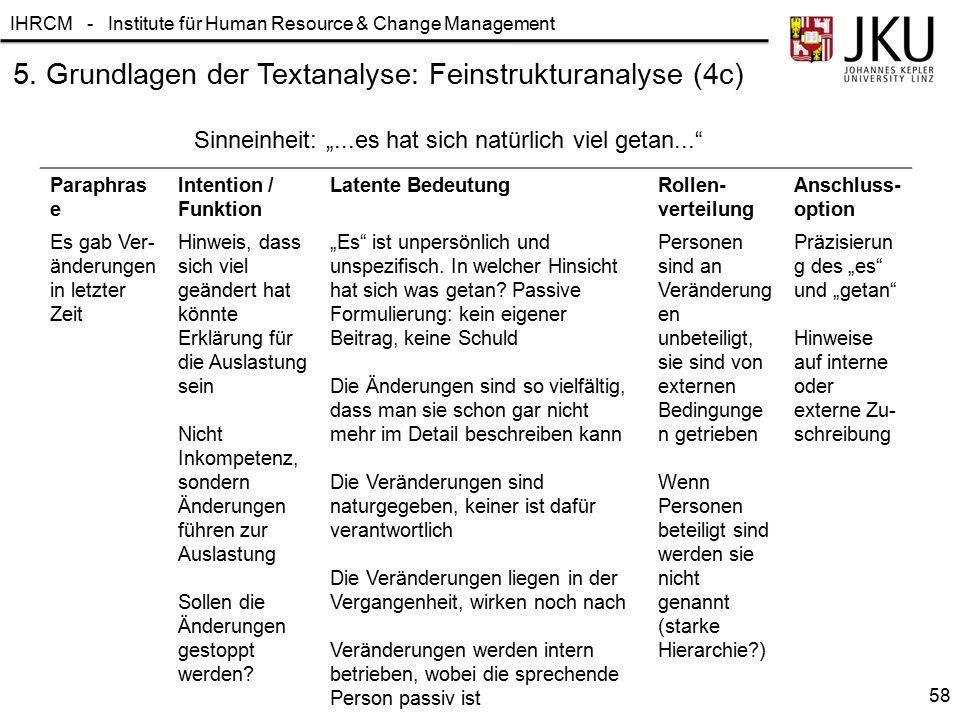 5. Grundlagen der Textanalyse: Feinstrukturanalyse (4c)