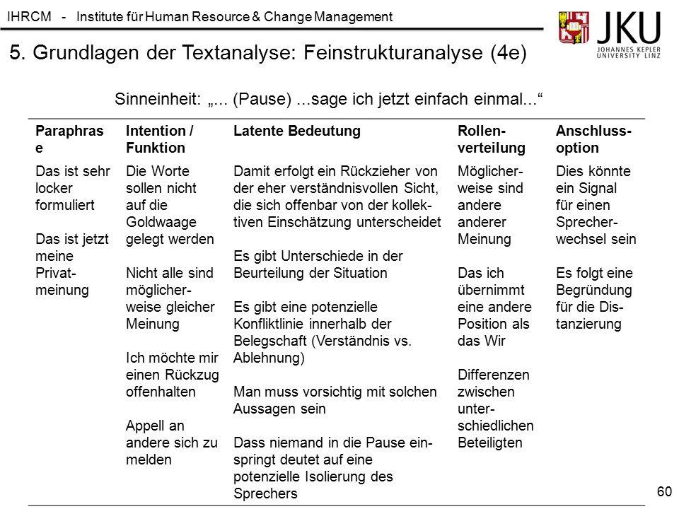 5. Grundlagen der Textanalyse: Feinstrukturanalyse (4e)